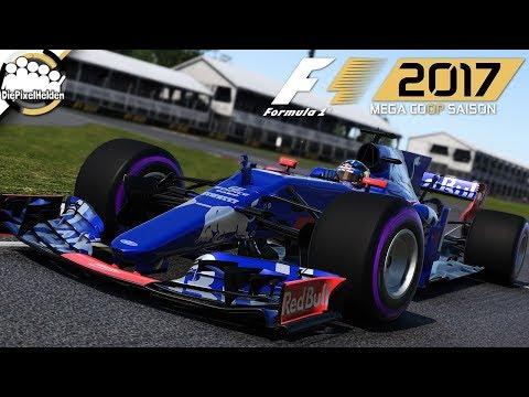 F1 2017 MEGA COOP SAISON - Kanada-Test : Rennen - Let's Play F1 2017 Mega Coop
