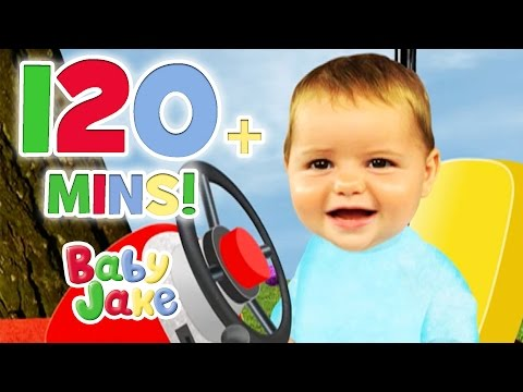 Baby Jake -  Chasing the Penguin Eggs | 120+ minutes | Snowy Stories with Baby Jake