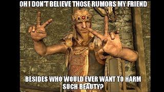 Skyrim: Unused Dialogue Almost Every NPC Has
