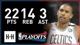 Al Horford Full Game 5 Highlights Bucks vs Celtics 2018 NBA Playoffs - 22 Pts, 14 Reb, 3 Ast!