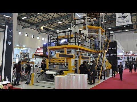 OZGULMAK PLASTIC MACHINERY IN PLAST EURASIA 2017 FAIR