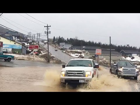 Mixed bag of weather hammers Atlantic Canada