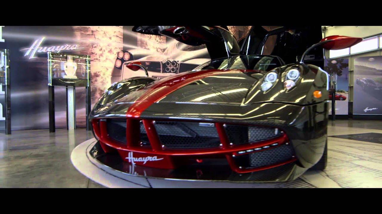 miller motorcars present- pagani huayra - youtube