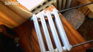 видео Мощность одной секции чугунного радиатора отопления квт: таблица