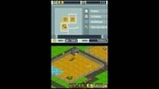 Zoo Tycoon 2 DS Nintendo DS Gameplay - Building a
