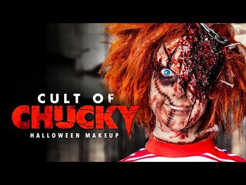 Cult Of Chucky Halloween Makeup Tutorial