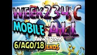 Angry Birds Friends Tournament All Levels Week 324-C MOBILE Highscore POWER-UP walkthrough