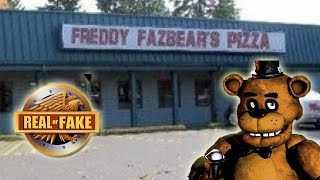 - FREDDY FAZBEAR S PIZZA PLACE real or fake