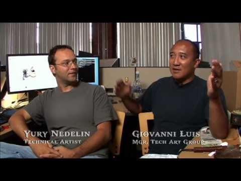 God of War 3 Bonus Features - Tech Art [SCE Santa Monica Studio Development Diary]