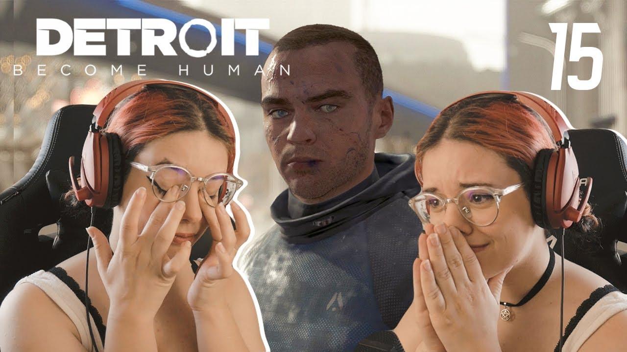 DETROIT BECOME HUMAN #15 - A REVOLUÇÃO PACÍFICA DEU ERRADO (PT)