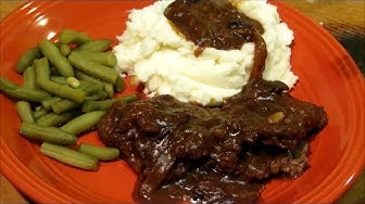 Liver and Onions - How to make Liver and Onions with Gravy - Liver Recipe