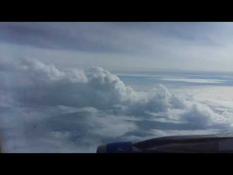 Indigo airlines in the clouds  video by muddasir