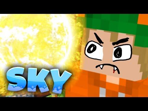 AHHH, viel zu helll | #74「Minecraft SKY」
