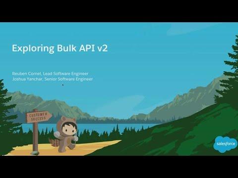 Exploring Bulk API V2