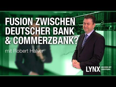 Fusion zwischen Deutscher Bank & Commerzbank? Interview mit Robert Halver   LYNX fragt nach