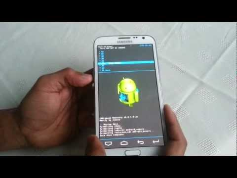 Samsung Galaxy Note 2 HOW TO FLASH OMEGA ROM AND THEME TUTORIAL