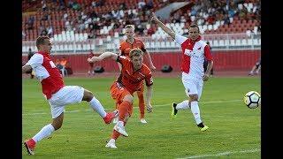 Голы и опасные моменты матча «Войводина» - «Урал»