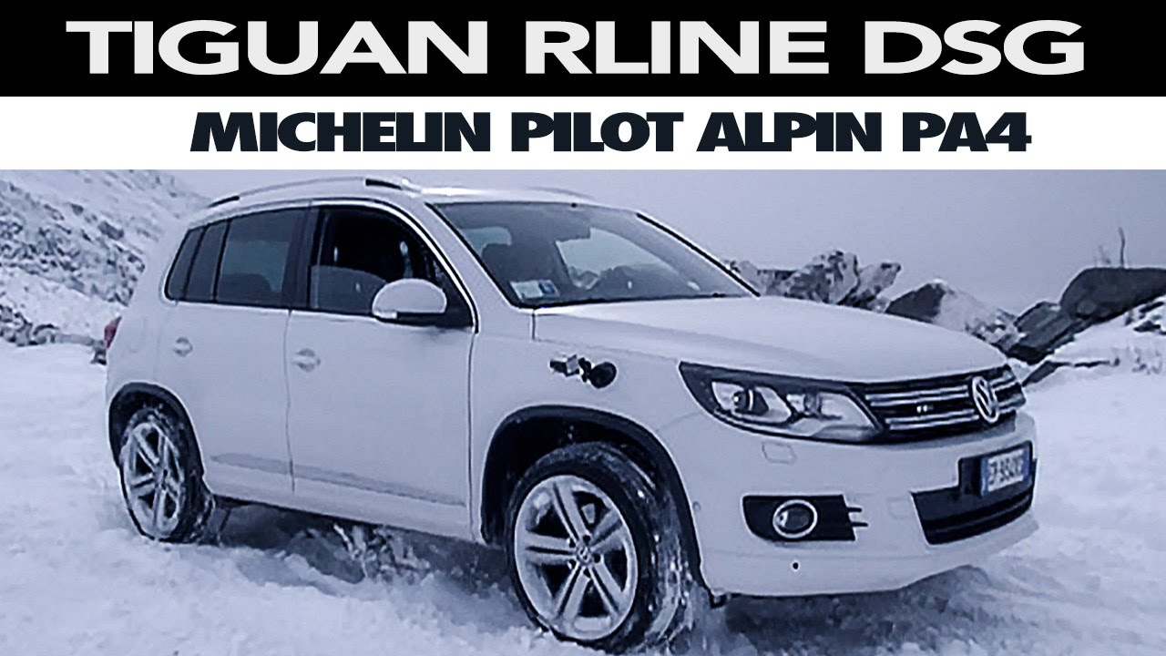 volkswagen tiguan michelin pilot alpin pa4 test. Black Bedroom Furniture Sets. Home Design Ideas