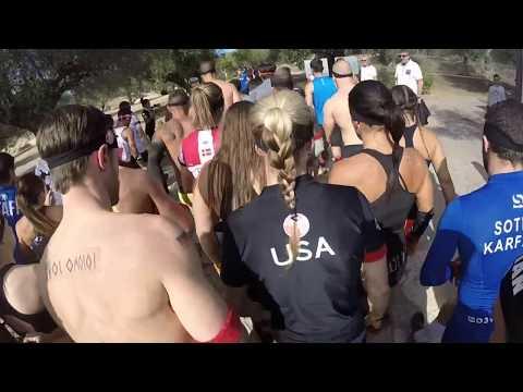 2017 Spartan Race Greece Race Intro - Sparta, Greece