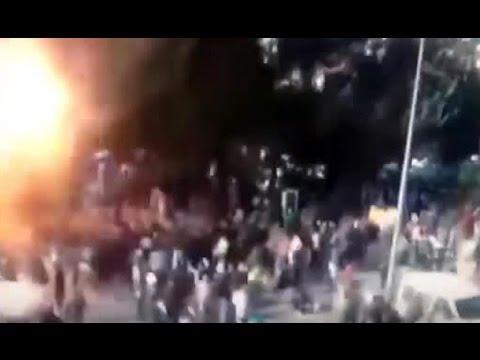 Ankara'daki Patlama Anı Mobesede