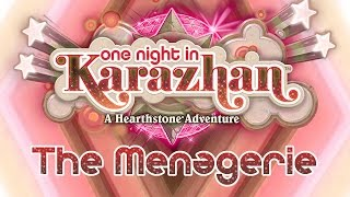 Hearthstone: Karazhan Playthrough - The Menagerie Normal & Class Challenges