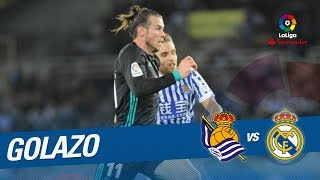 Golazo de bale (1-3) real sociedad vs real madrid