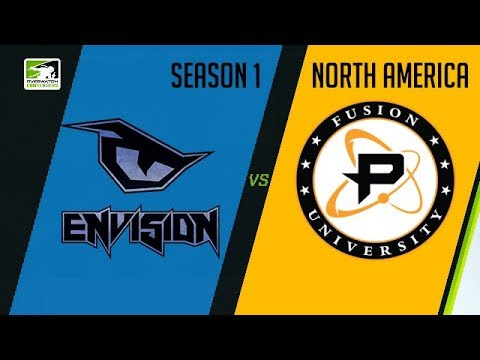 EnVision eSports vs Fusion University (Part 1) | OWC 2018 Season 1: North America