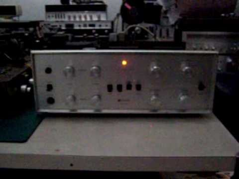 Pioneer Sa 810 Integrated Tube Amplifier Playing Baby Can