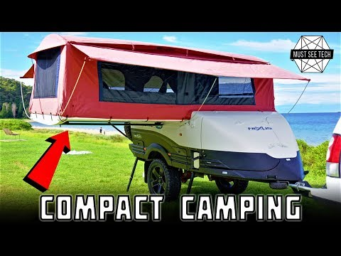 Top 8 Trailers for Camping Gear Transportation and Overnight Accommodation
