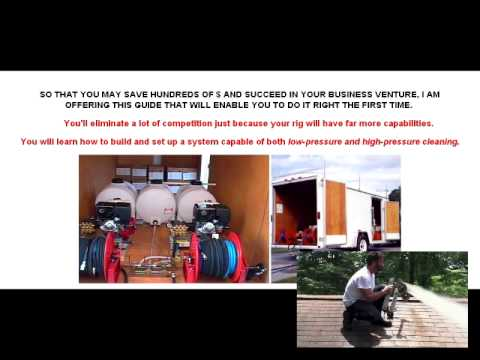 Build A Low Pressure Roof Cleaning Business - YouTube