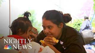 Inside The Migrant Caravan Traveling Through Mexico To U.S. Border | NBC Nightly News