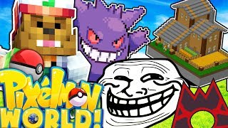 TEAM MAGMA GETS PRANKED HARD - PIXELMON WORLD #30