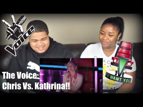 "The Voice 2017 Battle - Chris Weaver Vs. Kathrina Feigh: ""Dangerous Woman"" Reaction!"