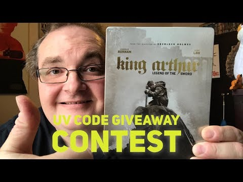 UV Code Giveaway Contest - KING ARTHUR LEGEND OF THE SWORD