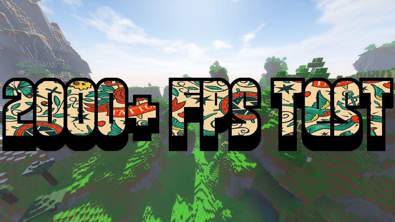 i7 3820 GTX 970 Minecraft FPS test :: 2000+ FPS AMPLIFIED