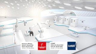 Industrie 4.0 und Logistik: SICK auf der Hannover Messe und CeMAT 2018 | SICK AG