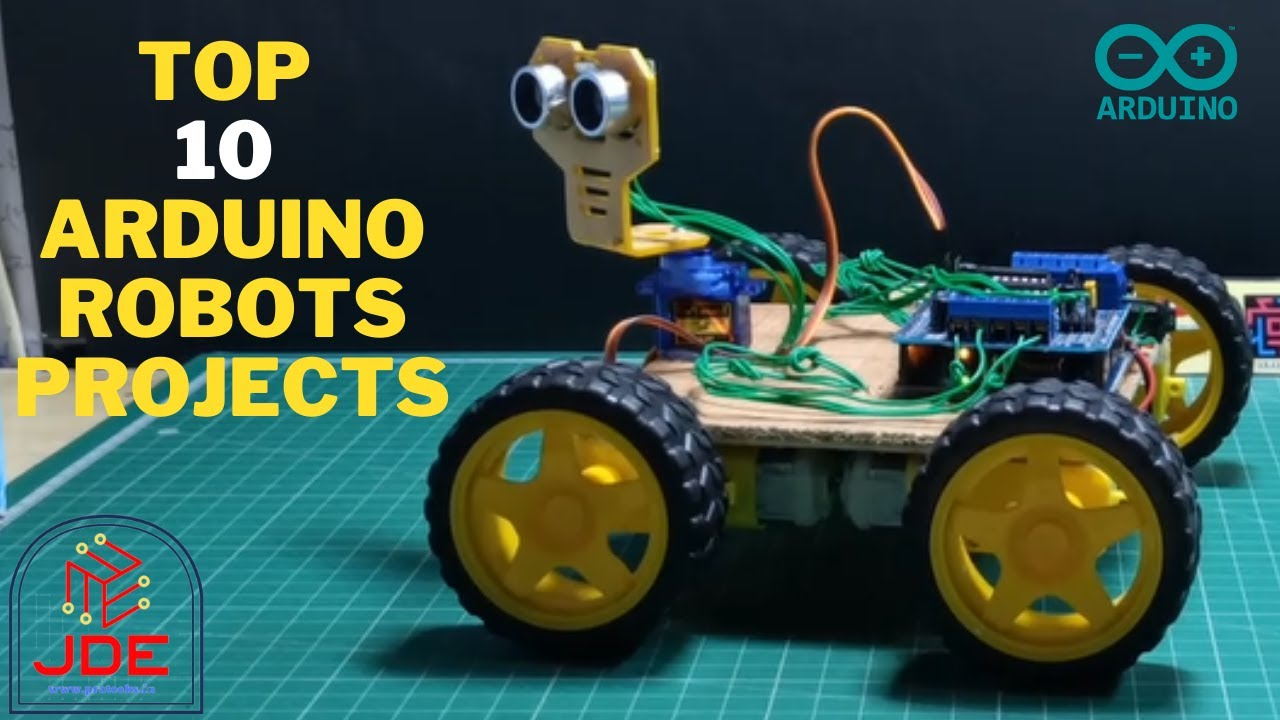 Top 10 Arduino Robots Projects | Arduino Projects 2020