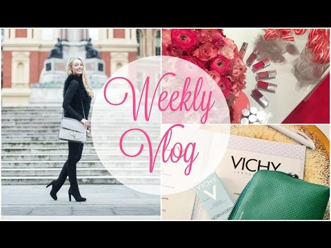 Blog Events, Meetings & Flying Business Class!       Weekly Vlog       Fashion Mumblr