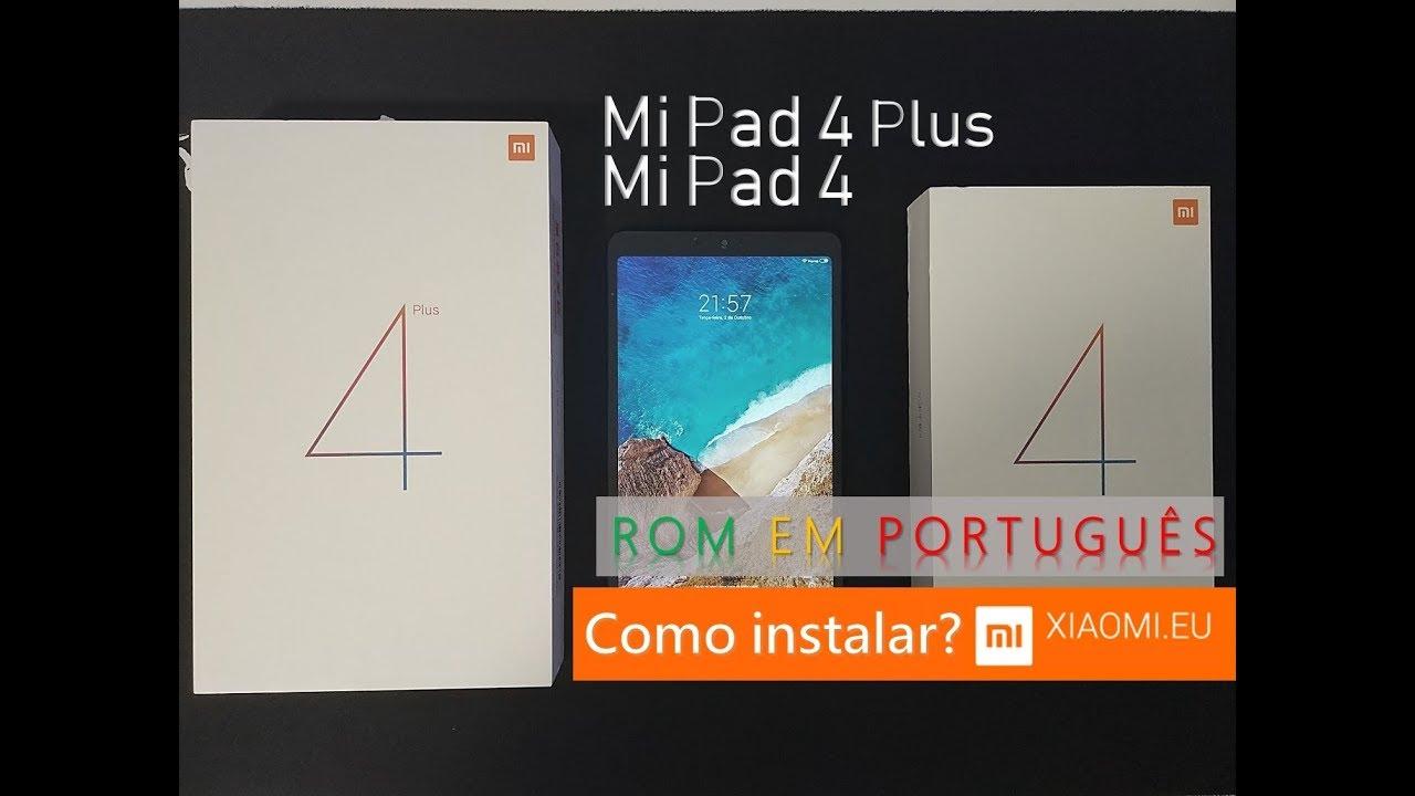 TUTORIAL: ROM em português para o Xiaomi Mi Pad 4 e Mi Pad 4 Plus