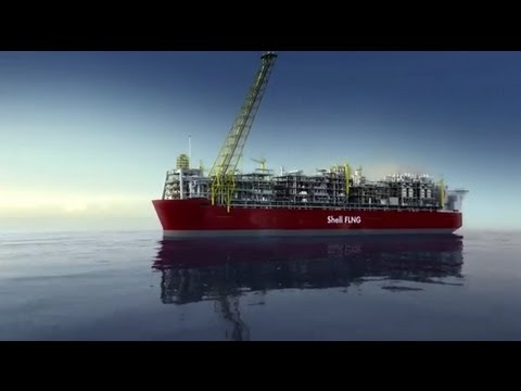 Construction starts at the world's first FLNG project