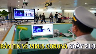 Số ca mắc Covid-19 tại Việt Nam tăng lên 94 I Bản tin về virus corona ngày 21.3.2020