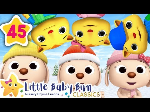 Cute Kittens and Puppies! | +More Kids Songs | Nursery Rhymes | Little Baby Bum