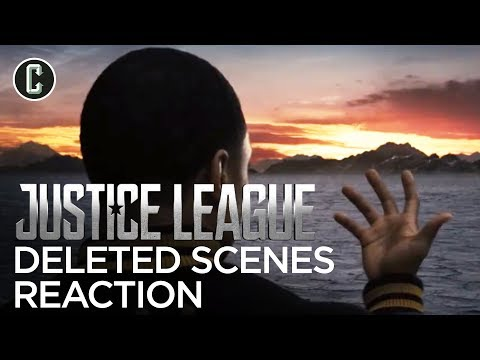 Justice League Deleted Scenes Reaction