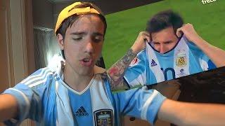 REACCIONES DE UN HINCHA Penales Argentina vs Chile - Copa América 2016