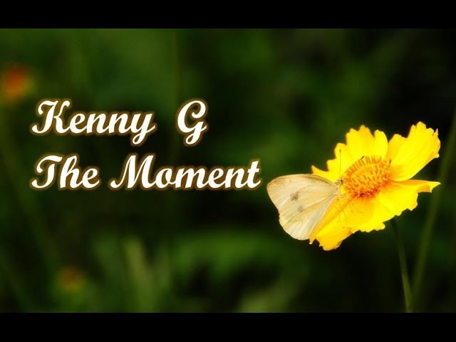 kenny-g-the-moment-kennyguille