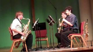 Sax Quartet (Cowboy Bebop) - Blue Sky Saxophone Quartet