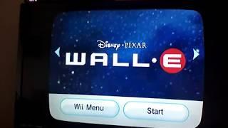Wall e : Wii playthrough
