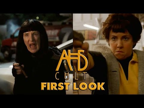 AHS Cult FIRST LOOK at Lena Dunham & Frances Conroy in Episode 7