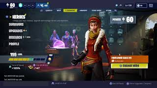 Fortnite STW legacy Giveaway at 100 subs