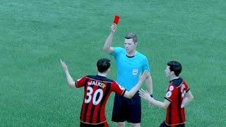What Happens if Gareth Walker gets a RED CARD !? (Fifa 17 Alex Hunter Journey)